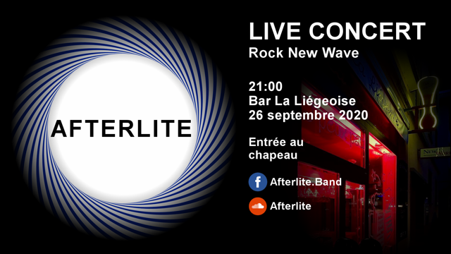 afterlite en concert
