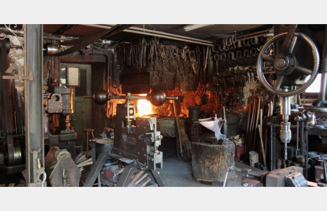 La forge de la Tzintre