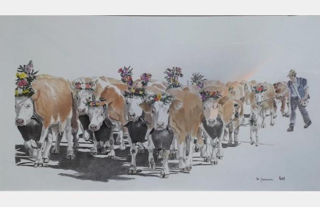"""Exposition artistique """"Dessins de Michel Gremion"""""""