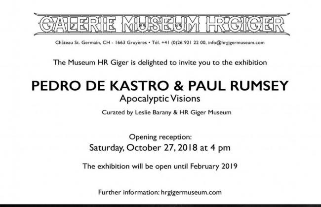 Apocalyptic Visions - Pedro de Kastro & Paul Rumsey