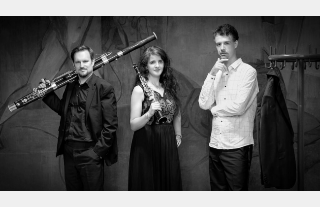 Musique de chambre - Trio Lignum: clarinette, basson et piano