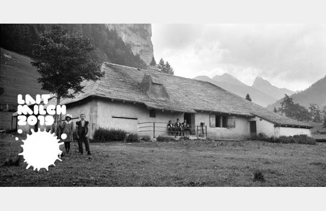 La visite à l'alpage, une tradition photographique
