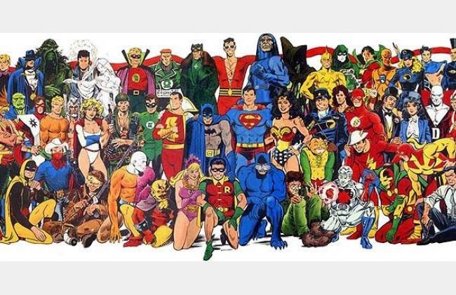 Les super héros sur leur 31 (ex Bal du Collège)
