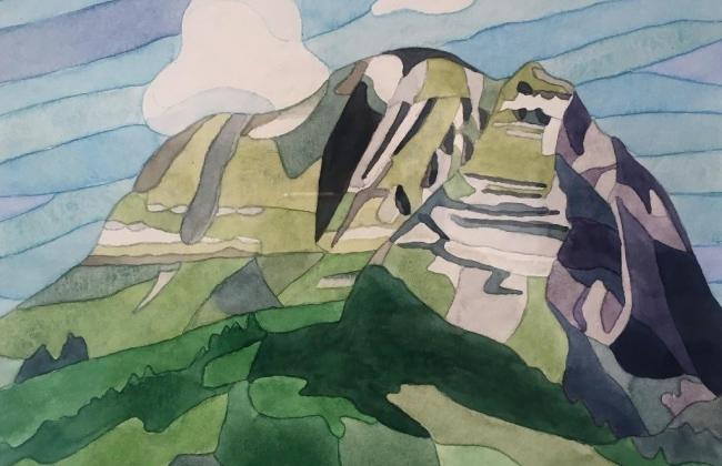 Vernissage de l'exposition de peinture de Françoise Vetterli Charbaut