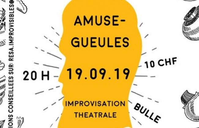 AMUSE GUEULES - Improvisation théâtrale