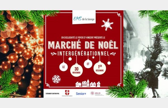 Marché de Noël Intergénérationnel