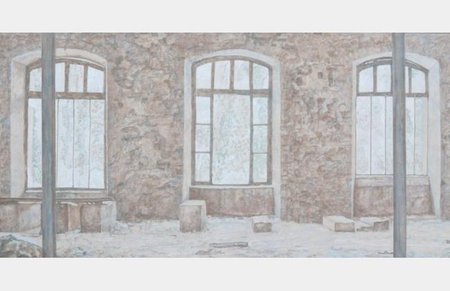 Etat des lieux Daniel Savary, peinture