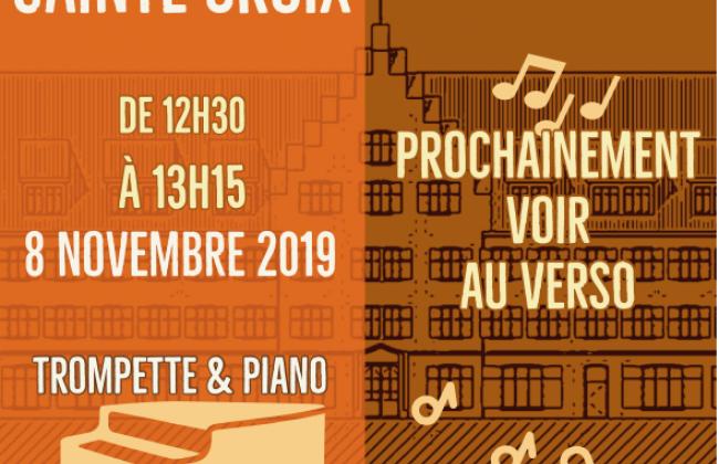 Midis de Sainte-Croix - Trompette et piano par Jean-Marc Bulliard et Boris Fringeli et élèves