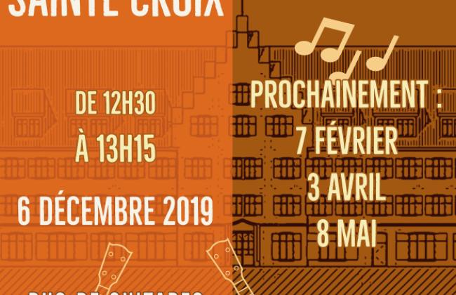 Midis de Sainte-Croix - Duo de guitares emmenés par Jérôme Fracheboud, Hervé Dubois et les élèves