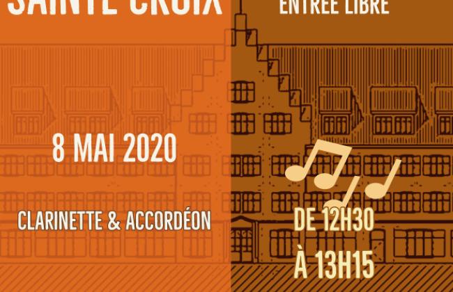 Midis de Sainte-Croix - Clarinette & Accordéon par Nathalie Jeandupeux et Sylvain Tissot et élèves