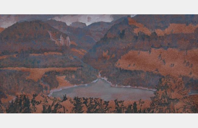 Passion de la peinture  avec Daniel Savary