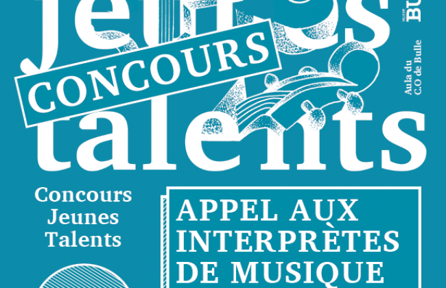 Soirée Jeunes Talents - Inscriptions au concours
