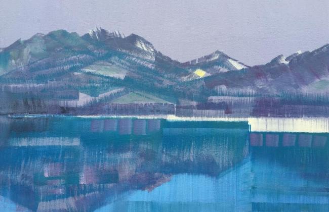 Exposition de peinture de Julien Victor Scheuchzer à la galerie Osmoz, à Bulle (vernissage le 30 novembre, 16h-19h)