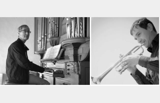 Matthias Lehmann, trompette, cor des Alpes & Ivo Zurkinden, orgue