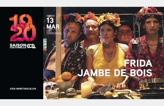 FRIDA JAMBE DE BOIS