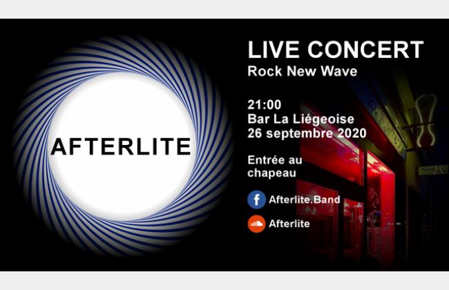 afterlite en concert