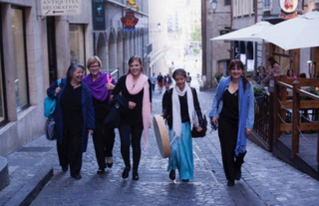 Vocaëlles, ensemble vocal féminin: Sur un fil, entre Léman et Baltique