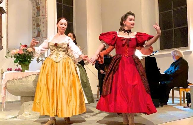 Concert du Nouvel An - Ensemble de musique et danses baroques: Perles baroques