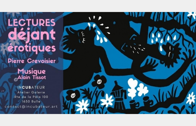 LECTURES déjantérotiques de Pierre Crevoisier et Musique d'Alain Tissot
