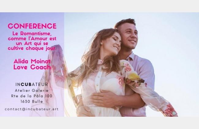 CONFERENCE Le Romantisme, comme l'Amour est un Art ... de Alida Moinat