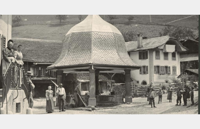 La Gruyère au début du XXe siècle