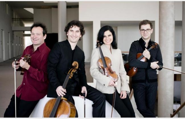 Quatuor Belcea, concert de la Société des Concerts de la Ville de Bulle