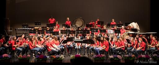 Concert des Cadets de Bulle au Comptoir Gruérien