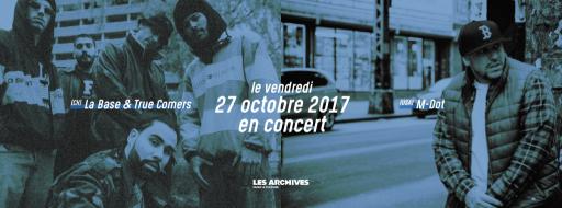 M-Dot (USA) & La Base (CH) en concert