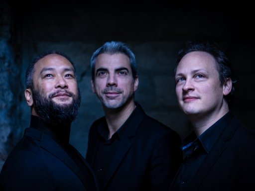 Trio Talweg : Romain Descharmes, piano, Sébastien Surel, violon, Eric-Maria Couturier, violoncelle
