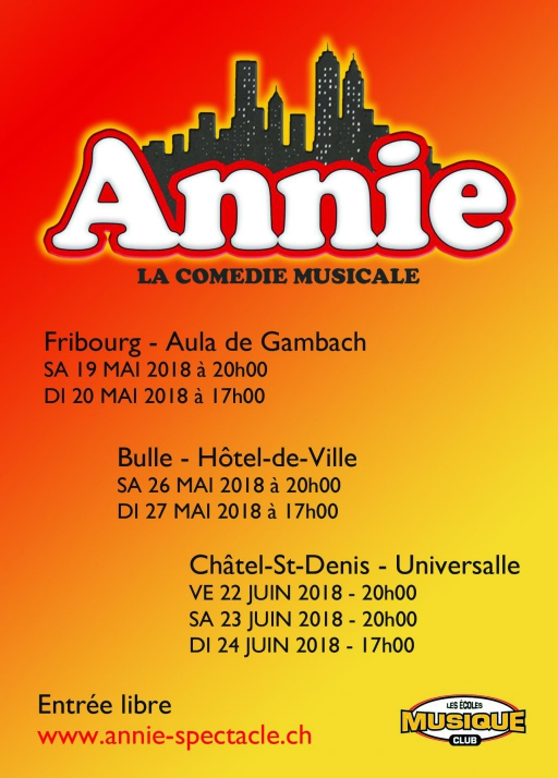 Comédie musicale Annie
