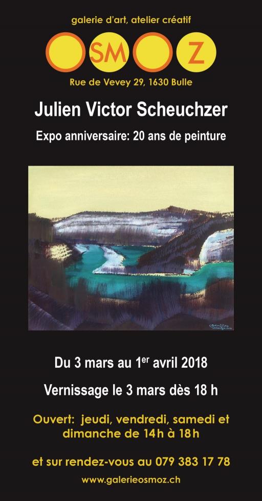 Expo anniversaire : 20 ans de peinture