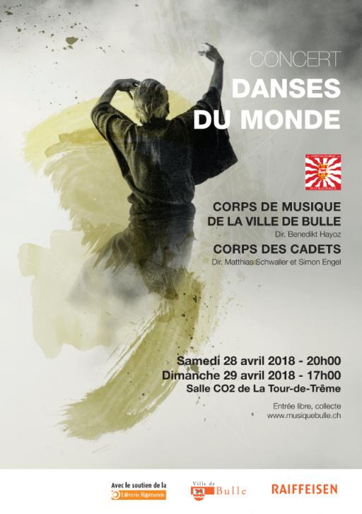 Concert annuel du Corps de Musique et des Cadets de la Ville de Bulle
