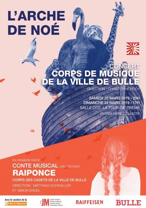 Concert annuel du Corps de Musique de la Ville de Bulle