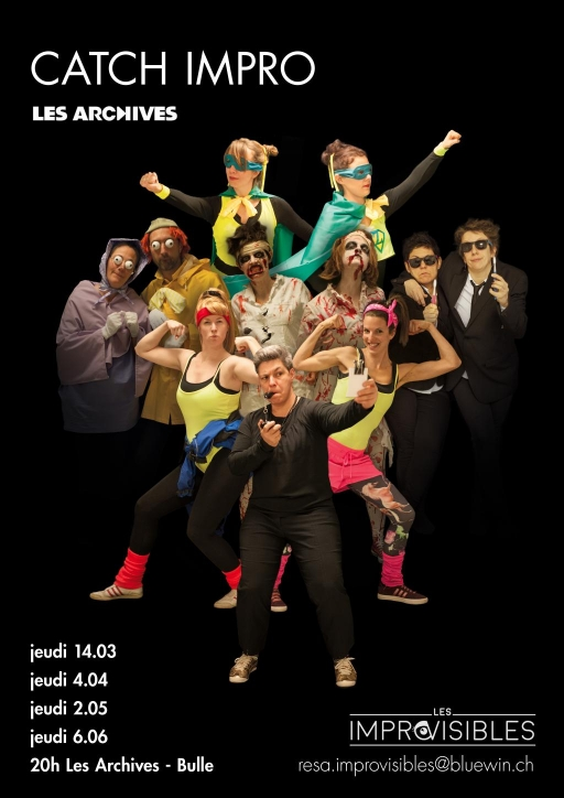 CATCH IMPRO - Tournoi