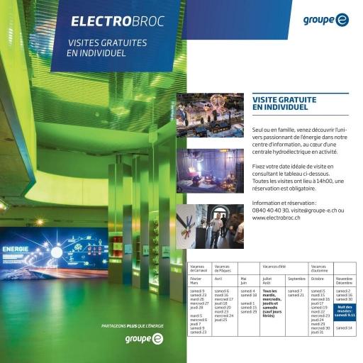Electrobroc : visite gratuite en individuel