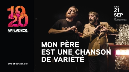 MON PÈRE EST UNE CHANSON DE VARIÉTÉ
