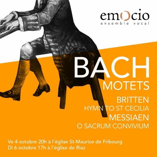 Concert Motets de J.S. Bach