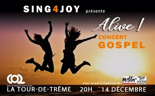 """Concert de GOSPEL """"ALIVE"""""""