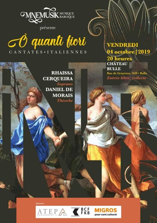 Mnemusik - Ó quanti fiori - cantates italiennes