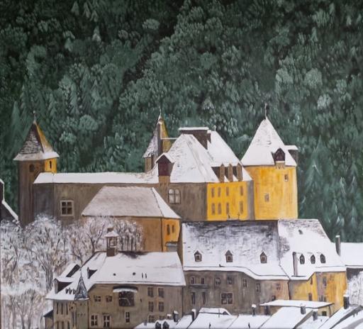 """Exposition artistique de Christian Gérard : """"La Gruyère dans tous ses états"""" du 9 novembre au 1er décembre 2019"""