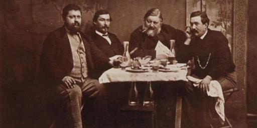 Gustave Courbet En exil à La Tour-de-Peilz