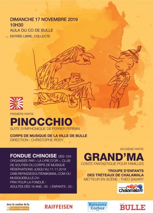 Pinocchio et Grand'Ma