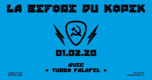 La Before du Kopek - Turbo Falafel