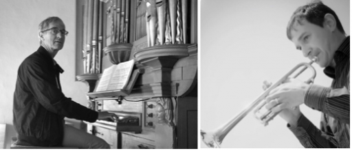 Matthias Lehmann, Trompete, Alphorn & Hubert Zurkinden, Orgel