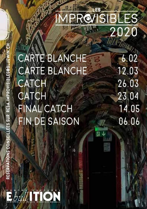 CARTE BLANCHE - Spectacle improvisé