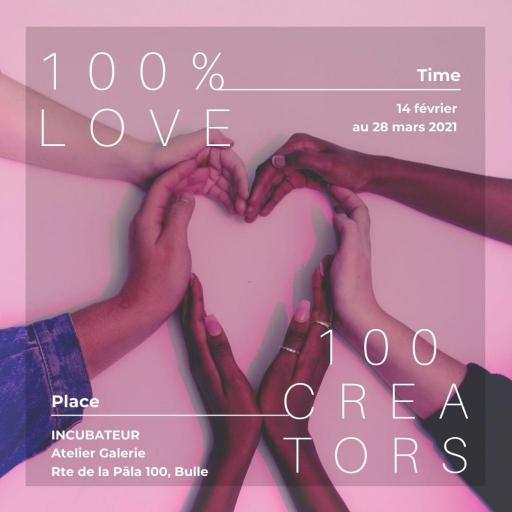 100% LOVE - 100 CREATORS