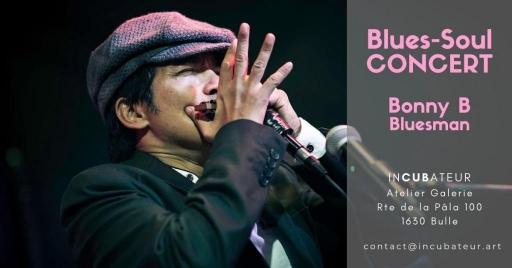 CONCERT Blues-Soul de Bonny B