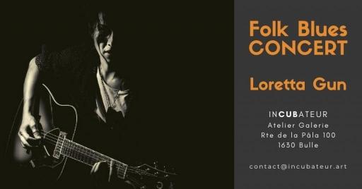 CONCERT Folk Blues de Loretta Gun