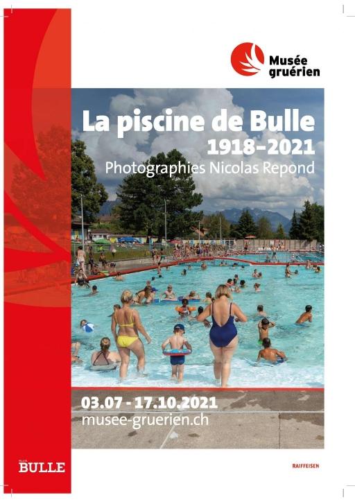 La piscine de Bulle - 1918-2021, photographies de Nicolas Repond