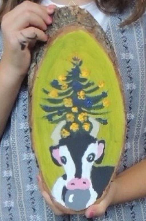 Atelier de peinture de poyas pour les enfants